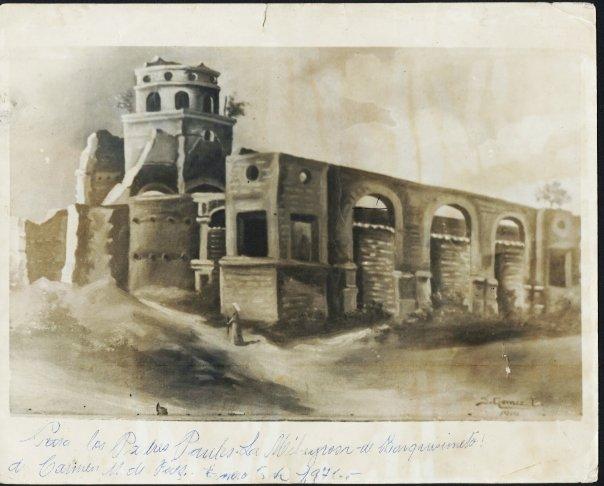 Templo de Nuestra Señora de San Juan en dos fotografías
