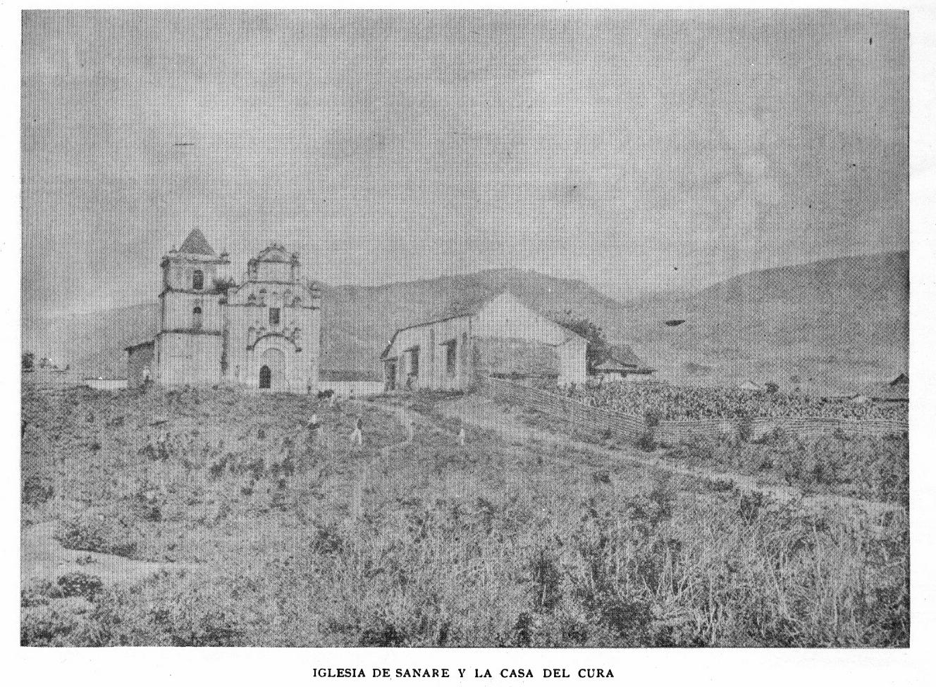 Sanare tiene una iglesia muy antigua