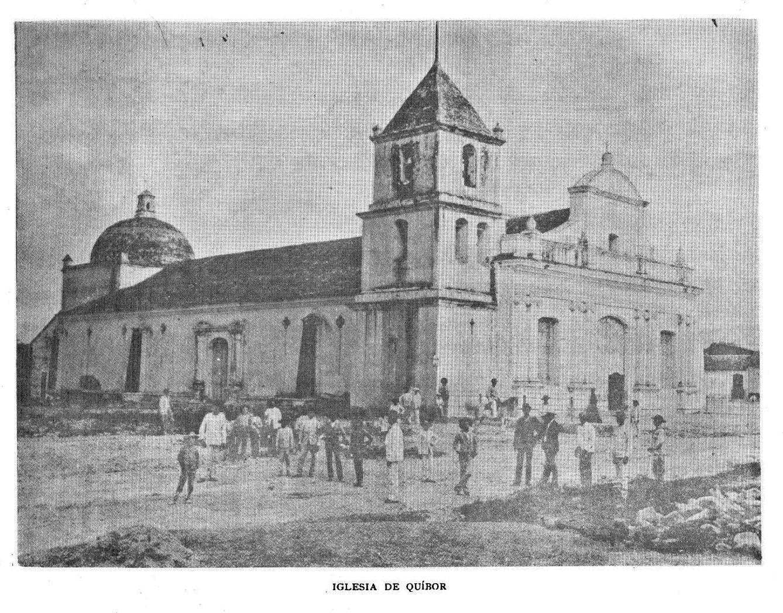 La iglesia de Quíbor en una reseña de 1894