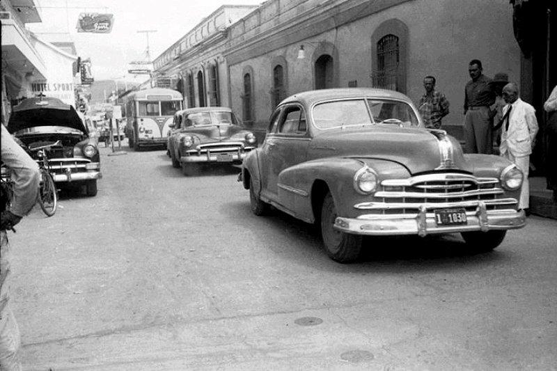 El tránsito automotor por Barquisimeto
