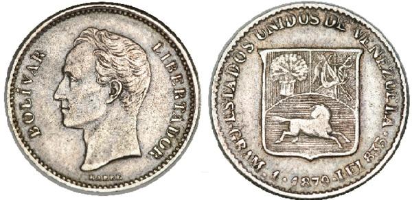 Simón Bolívar en las monedas venezolanas