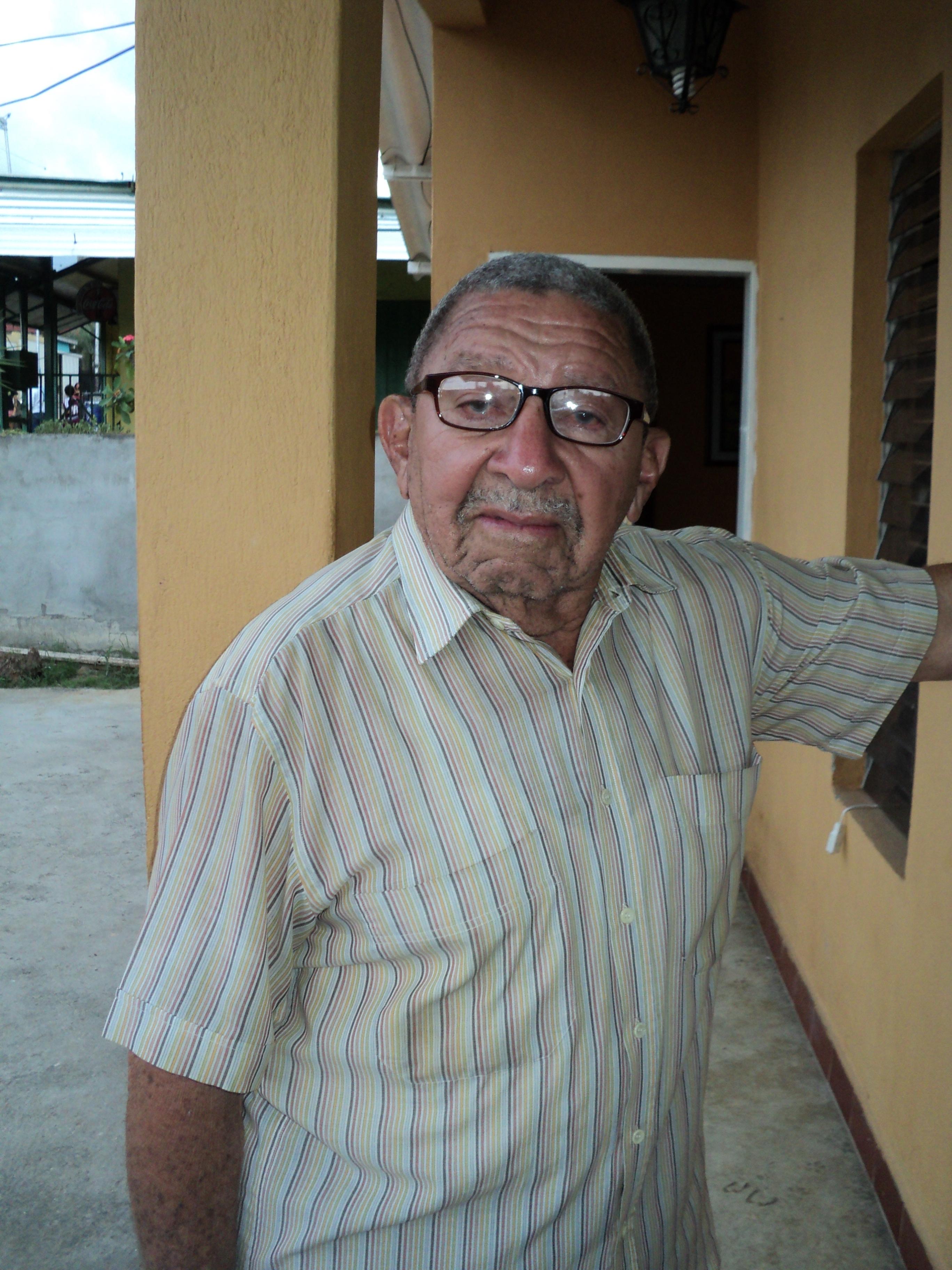 Rafael Dorante, quien fuera el último juez de agua de Palavecino