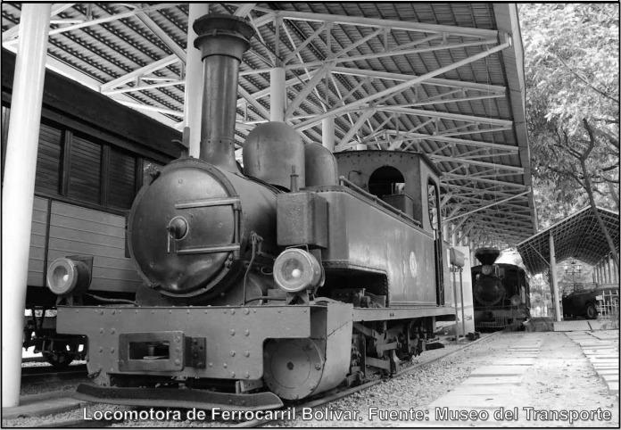El Ferrocarril Bolívar guió la hechura de Barquisimeto