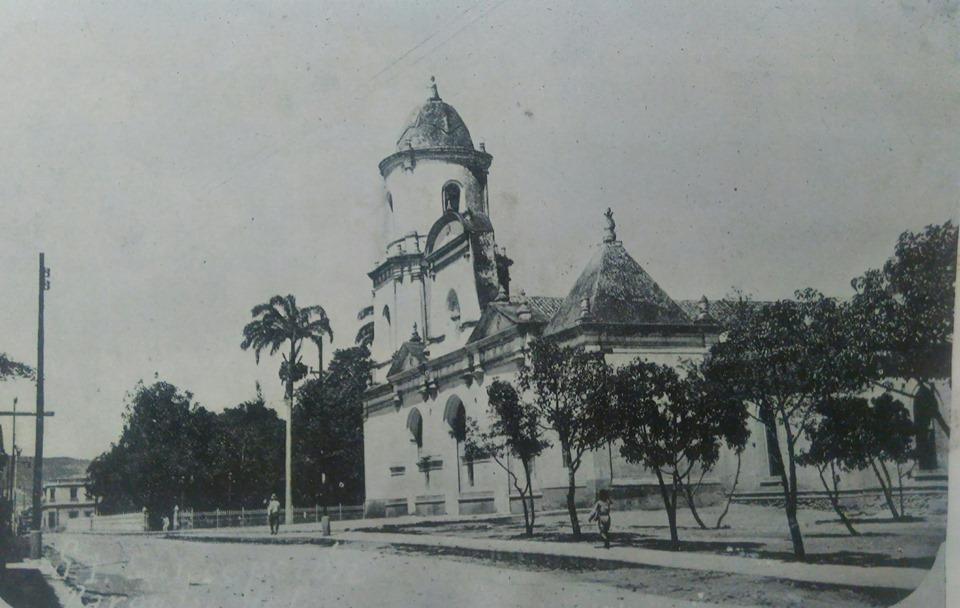 La iglesia Concepción fue reconstruida muchos años después del terremoto de 1812