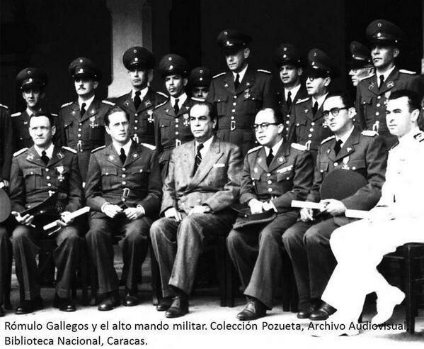 En 1950 Delgado Chalbaud pagó con su vida la traición a Rómulo Gallegos