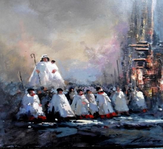 La exaltación pictórica de la Divina Pastora por Armando Villalón
