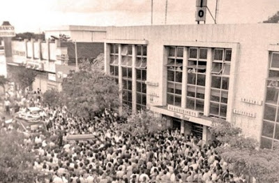 La histórica toma del Palacio Radial por sus trabajadores