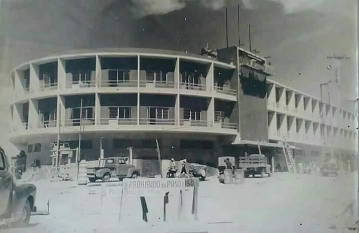 Construcción del majestuoso Hotel Cuatricentenario de Barquisimeto