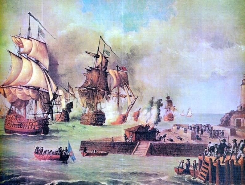 El ataque a Puerto Cabello en abril de 1743
