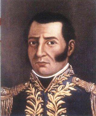 El almirante José Prudencio Padilla (1784-1828)