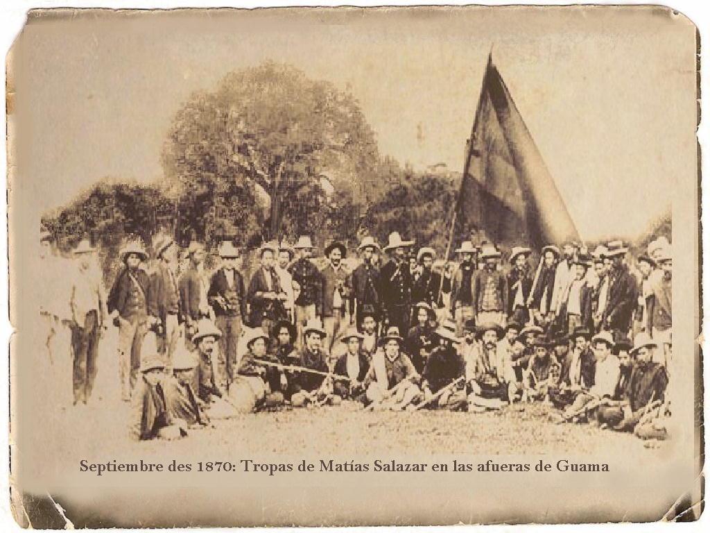 La batalla de Guama, Matías Salazar, Guzman y la iglesia